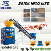 alibaba express china cycles brick block making machine lightweight concrete raw materials
