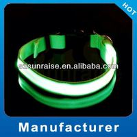 Good Quality hot sale led pet collar led flash colloar for dog led flash up collar made in China