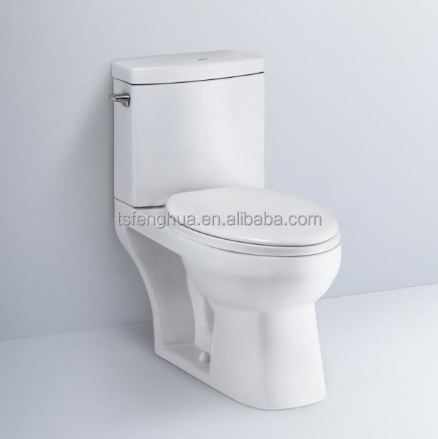 Siphonic Close-coupled Toilet Sanitary Ware WC Bathroom Design