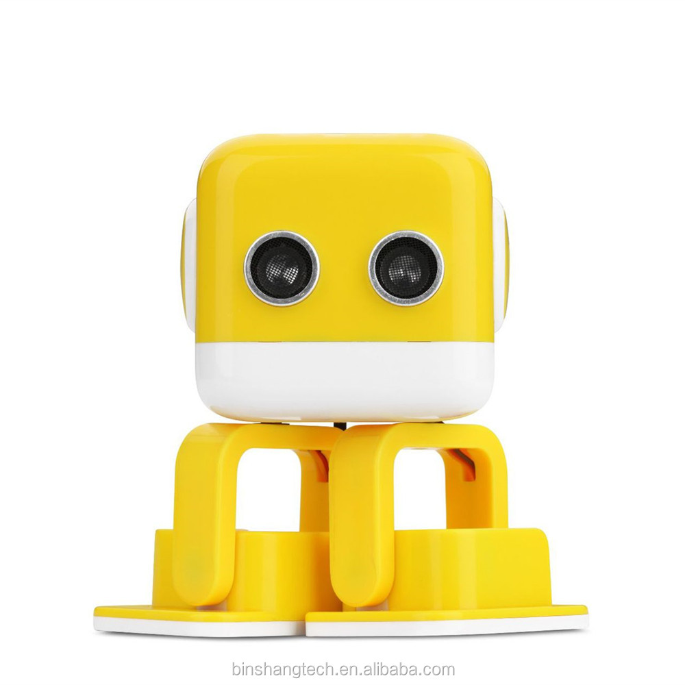 New interesting products music light dancing toy robot for education