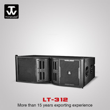 Dual 12'' Outdoor Indoor 3-Way Line Array Professional Audio speaker