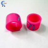 Debossed Colorful silicone finger ring