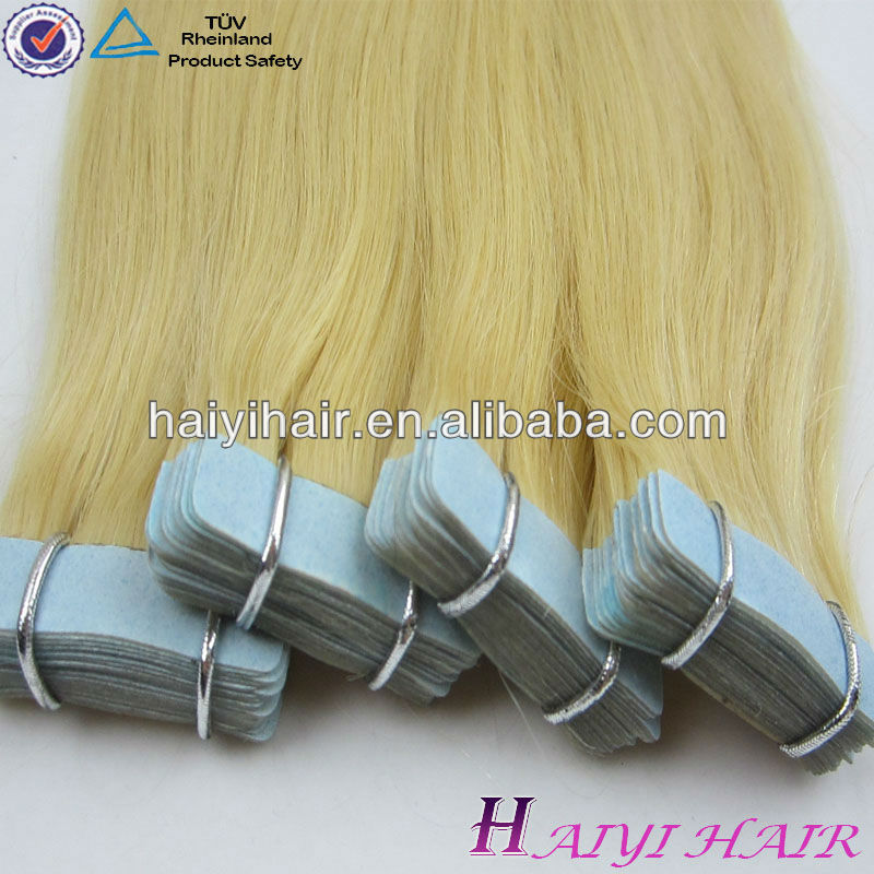 Highest Quality Human Hair All Kinds Of Colors Skin Weft 8-30inch Cheap Remy tape human hair extension