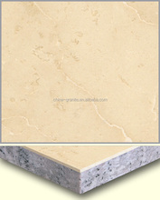 Factory Cheap Prices Golden Beige Granite Compound Marble For Wall and Floor