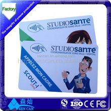 Customer loyalty and parking management ISO18000 6C rfid G 2 UHF card