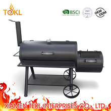 Barrel Bradley Smoker Heavy Duty Pig Large Metal Commercial Texas Charcoal Offset Smokers Cast Iron BBQ Grills Machine for Sale
