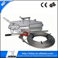 Wire Rope Pulling Hoist 0.8T- 5.4T / Hand Winch / Manual Hoist / Lifting rope winch hoist