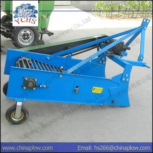 Single row and two row mini potato harvester