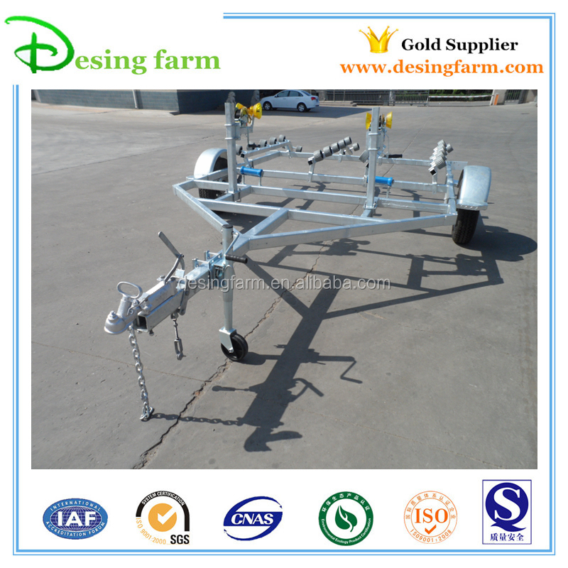 OEM factory Galvanized boat trailer kit for Australia and New Zealand