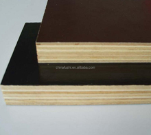china manufacturer wholesale brown&black film faced plywood formwork for building construction and concrete walls