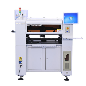 KAYO-A6L Factory Price Electronic Products Machinery 8 CCD Cameras LED light pcb printing machine Pick and Place Machine smt
