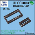 2.54mm low profile ic socket