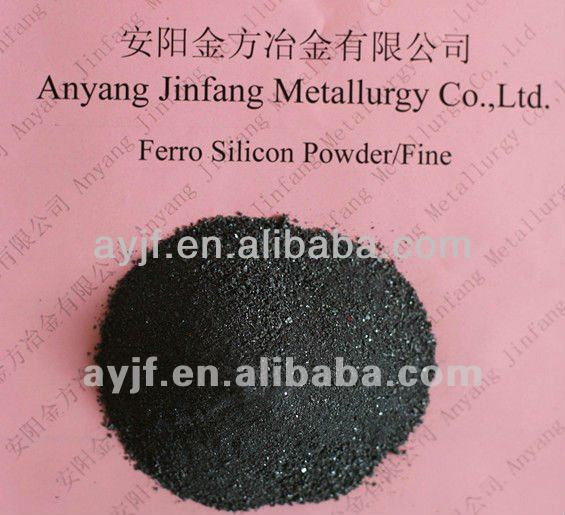 Anyang export ferro silicon 75%/ fesi 75 powder