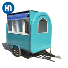 European style caravan trailer,small motorhome kitchen,off road with bike rack camper trailer