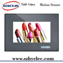 7'' video stand promotional transparent display lcd monitor for vending machine