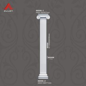 Beautiful Polyurethane Foam Decoration Roman Column/PU Roman Pillars