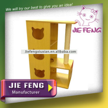 Unique high quality MDF wood amazing cat pet house