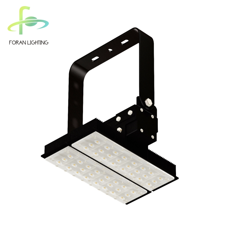 high power long lifespan modular ip65 gas station bridgelux emergency 100 140watt led flood light