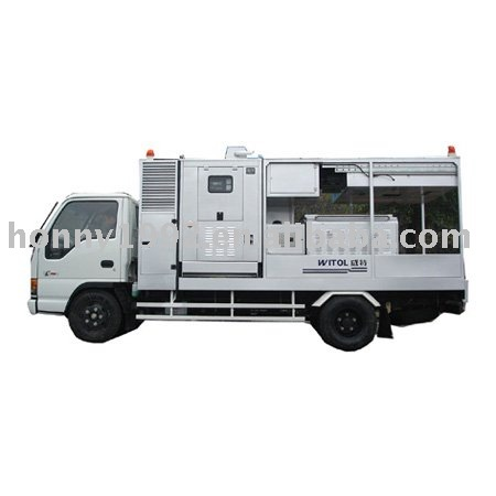 Trailer soundproof diesel generator set 10 to 4500KVA