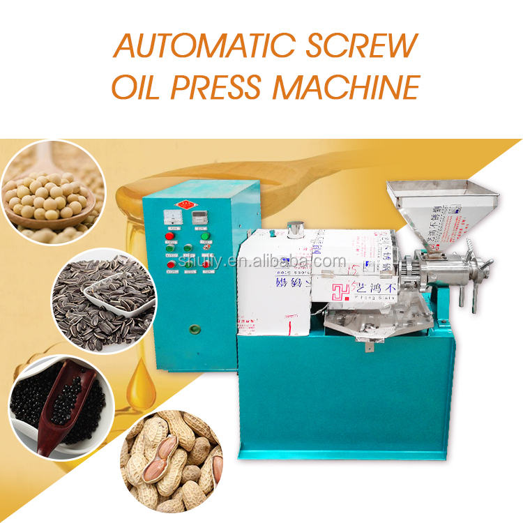 Screw oil press machine oil extraction press cold oil expeller mill
