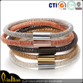 High Quality Blood Pressure Silicone With Copper Bracelet Match Magnetic Clasp For Sell