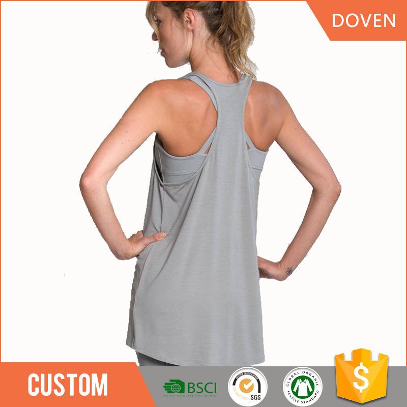 chinese factory sleeveless t-shirt O-neck/V-neck
