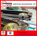 plastic single wall corrugated pipe processing machines cable protection pipe making machine