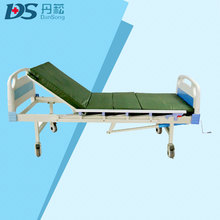ISO certificated hospital hand control elderly recliner chair bed with Guardrails
