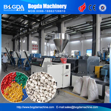 PVC plastic pellets making machine / PVC granules production line