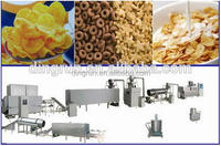 breakfast cereal machine / corn flakes breakfast cereal processing line