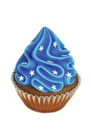 Funny CUPCAKE BLUE