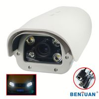 100 meter ir distance cctv camera 2.0 MegaPixel High Definition license plate recognition(LPR) waterproof IP Camera