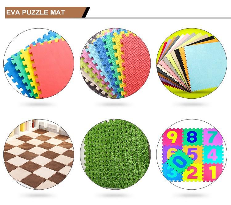 Multi Color Foam Floor Mat,Eva Floor Play Mat For Kids