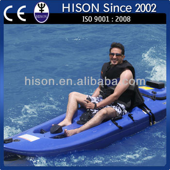 Hison Jet Engine Powered Racing Ocean Fishing Kayak