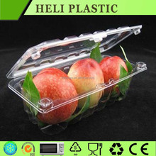 High clear PET helthy food shape plastic containers storage