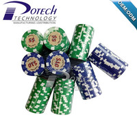 factory manufacturer PS/Clay meterial casino poker chips