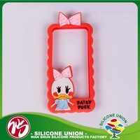Silicon factory wholesale price decorative phone case