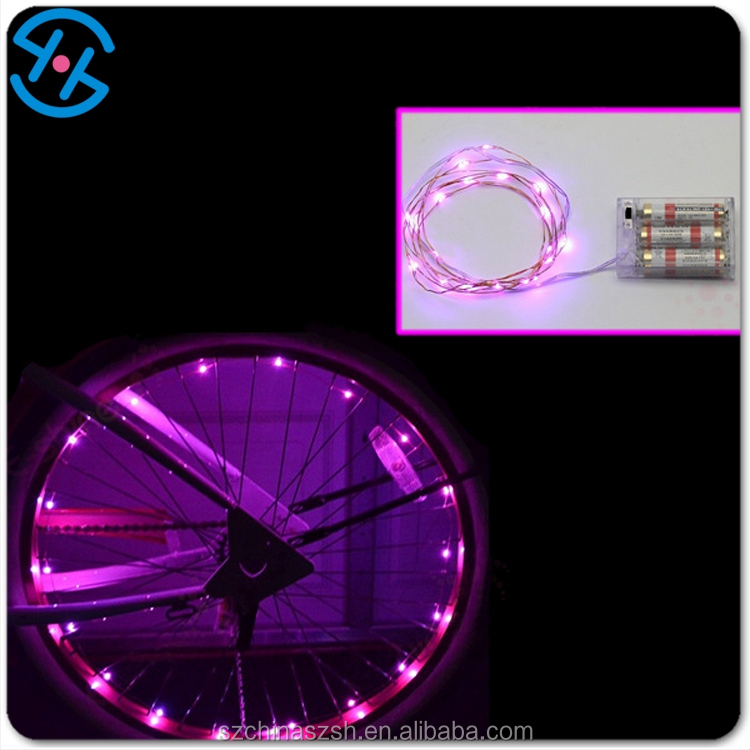 Hot sell Newly Sport Bike Bicycle Cycling Wheel colorful LED Light party supply