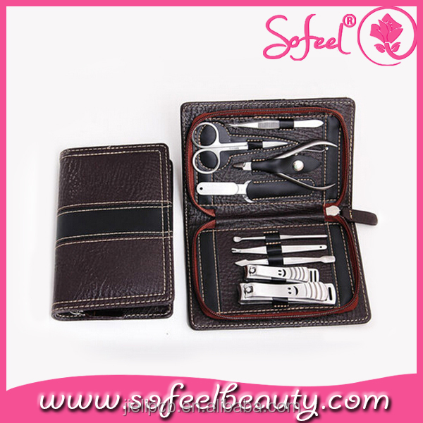 High Quality black professional stainless manicure tools