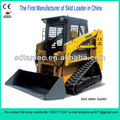 crawler skid loader,bobcat ,Skid steer loader with 40hp engine,loading capacity is 700kg