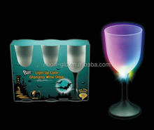 Multi-Color Plastic Wine LED Flashing Glass For Bar