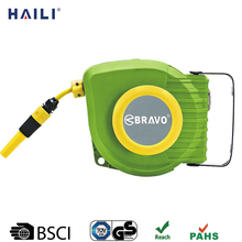 9m wall mounted retractable lawn extension hose and reel