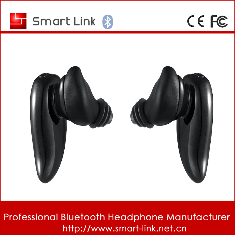 Wireless bluetooth micro nano earpiece with built-in mic support long distance connection for iphone 7