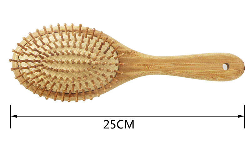 Wooden Bamboo Hair Brushes For Hair Care Massager Comb