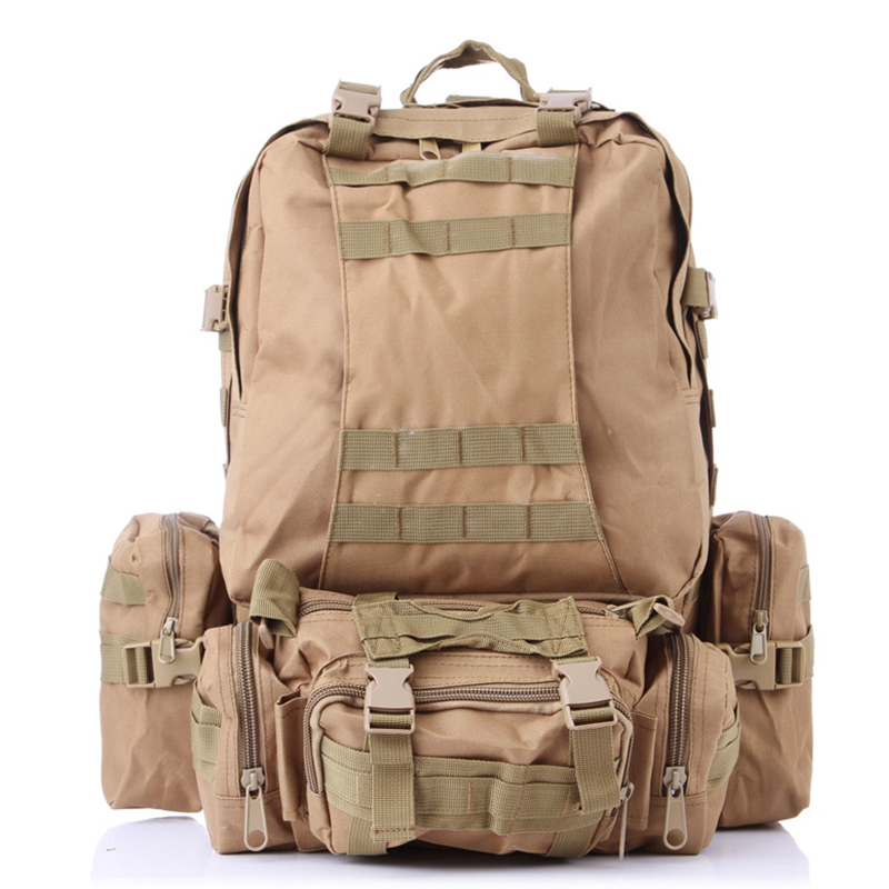 Detachable Large Capacity Backpack Tactical Army Rucksack Military Mochilas for Men