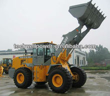 Jincheng 5 Tons Wheel Loader ZL50F/ 953 / 650 / 3m3 Bucket Capacity + Weichai / Shangchai 162KW Engine
