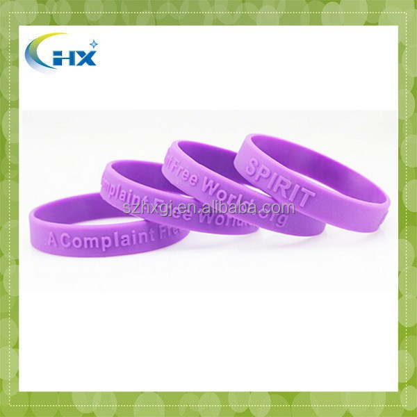 Factory directly sell the cheapest personalized silicone rubber wrist bands