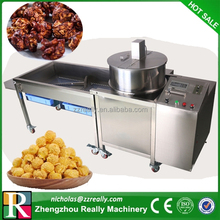 High capacity popcorn machine, spherical/ball shape industrial popcorn machine maker