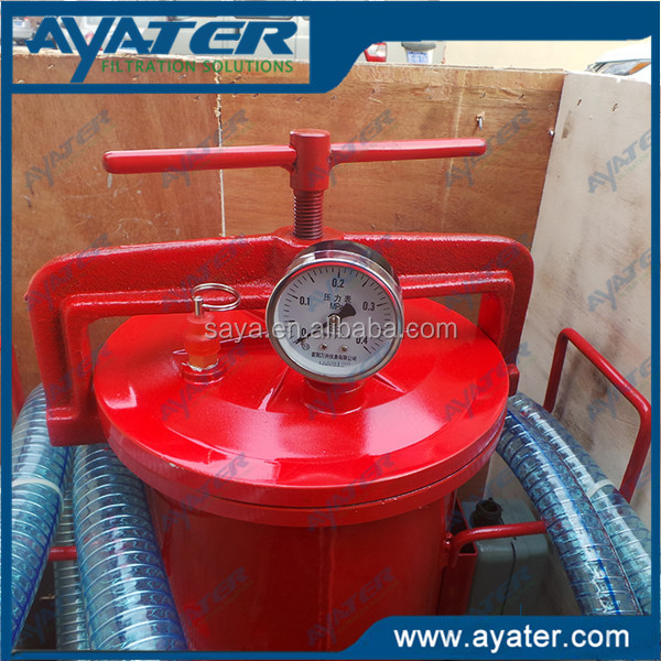 AYATER supply Series machine small engine oil purifier BLYJ-16