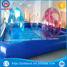 adult large inflatable swimming pool made of 0.9mm pvc tarpaulin for water balls